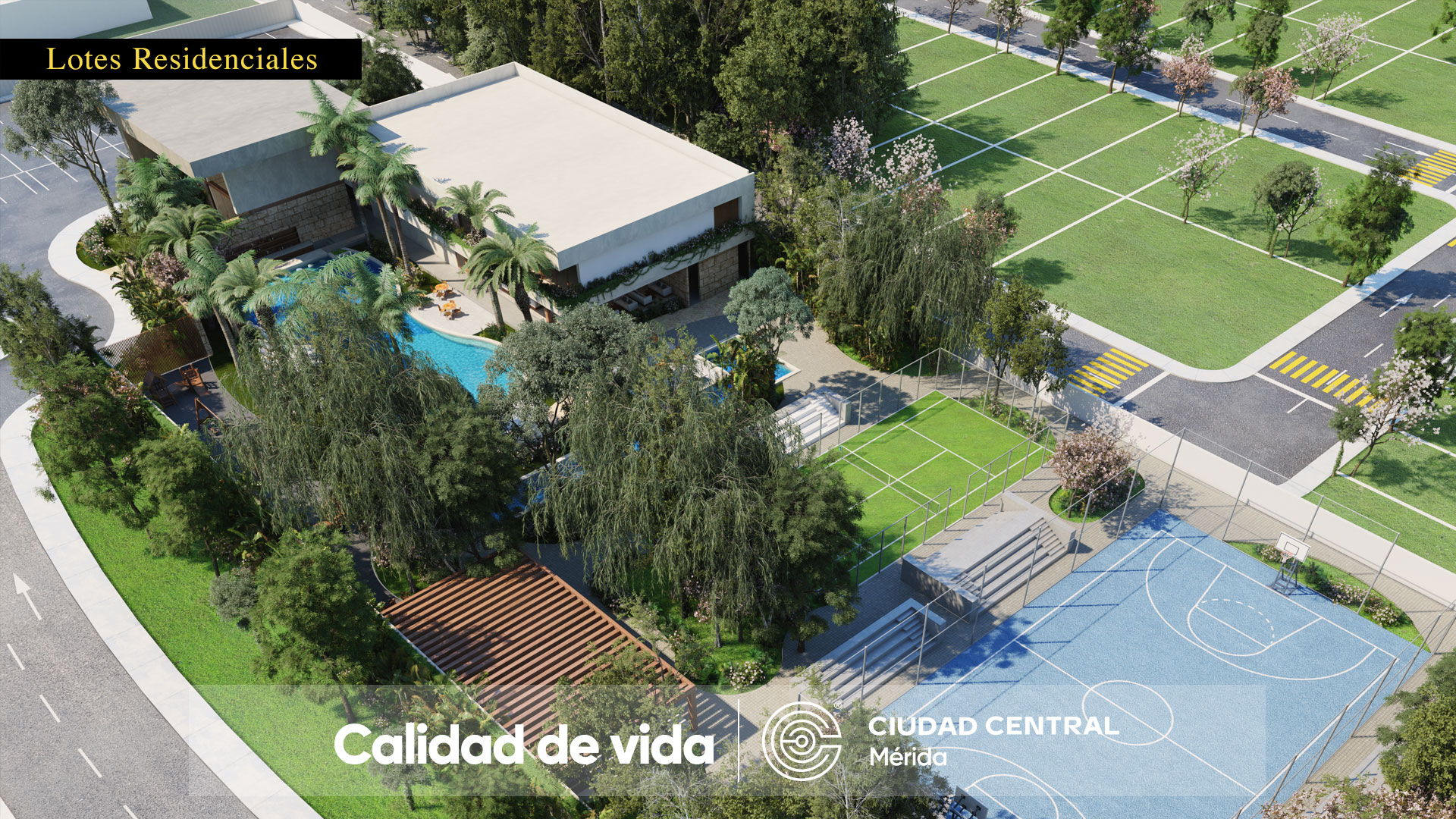 Ciudad Central Casa Club Render